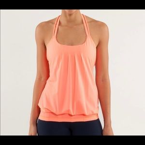 Lululemon Flow and Go tank {size 4}